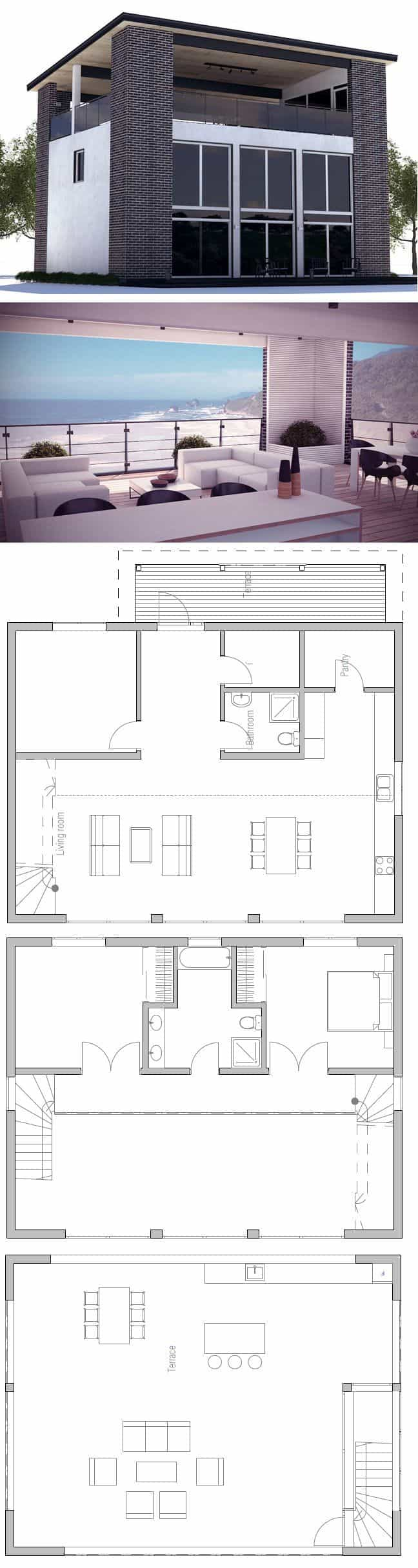 7 modern house plans samples modern home for Best small house plans ever