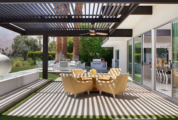 17 elegant pergola designs shaded to perfection modern home. Black Bedroom Furniture Sets. Home Design Ideas