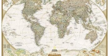 The 10 Best Wall Maps To Get on Amazon!