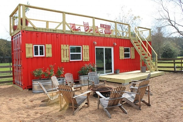 Bulletproof Shipping Container Hunting Lodges Modern Home