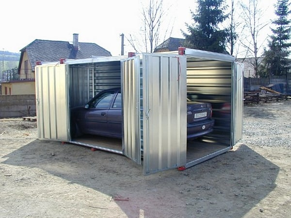 How To Build Your Own Shipping Container Garage Modern Home