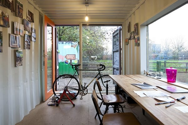 Now Imagine You No Longer Need The Offices U2013 What Do You Do? With Shipping  Containers ...