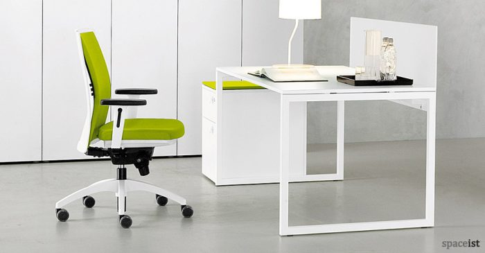 Charmant Http://www.lectorcomplice.com/white Office Table Desk/white Office Table  Desk Modern Office Desk With Built In Bookshelf White High Gloss High Gloss  White  ...